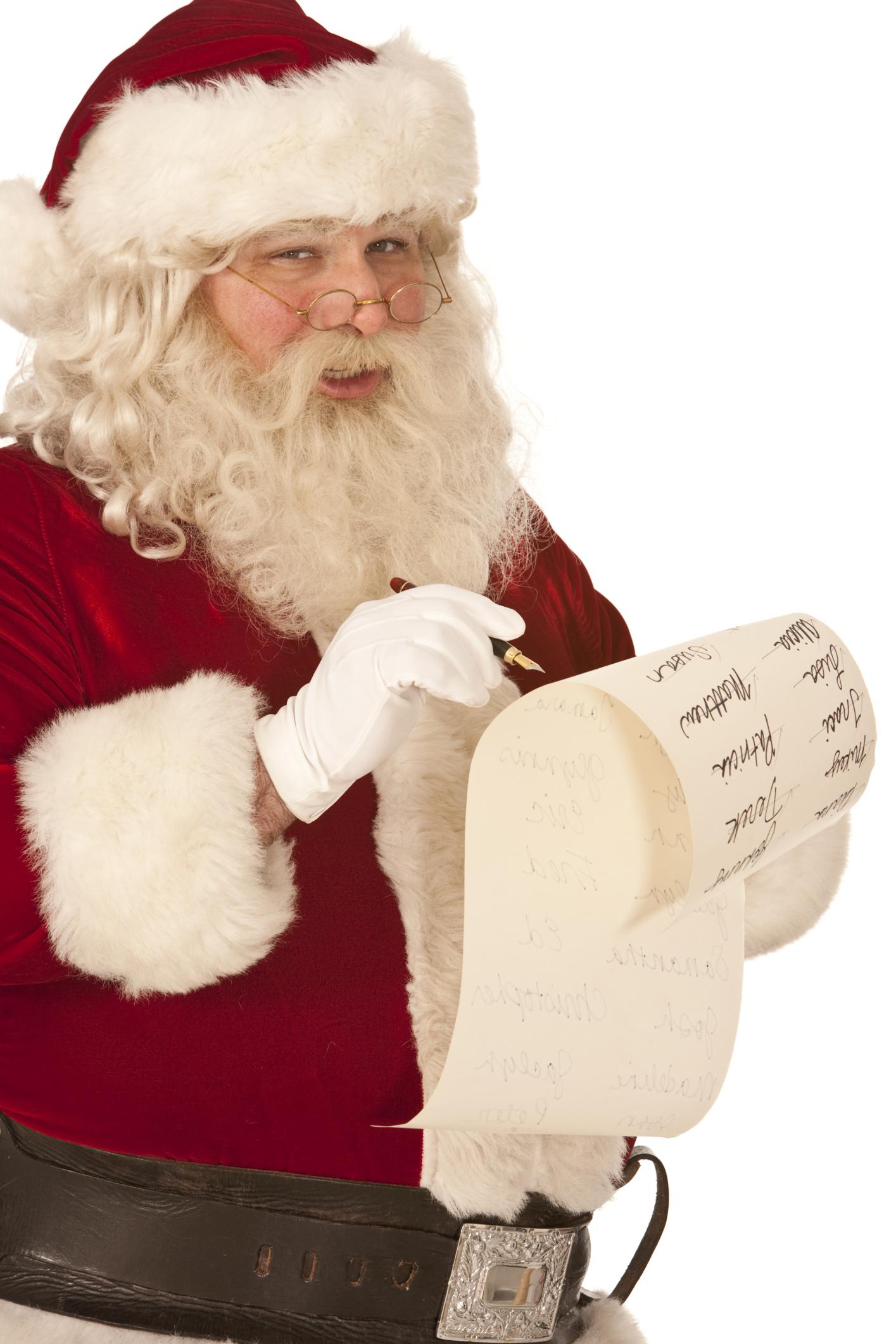 Grownup Girlz Camp Blog – Dear Santa…
